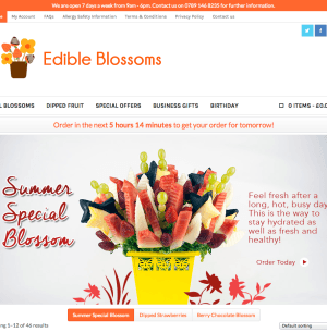 Edible Blossoms