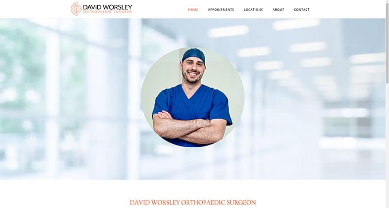 Dr Worsley Orthopedic Surgeon